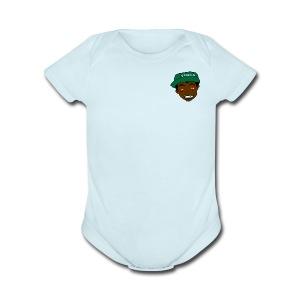 Anybody Can Say it - Short Sleeve Baby Bodysuit