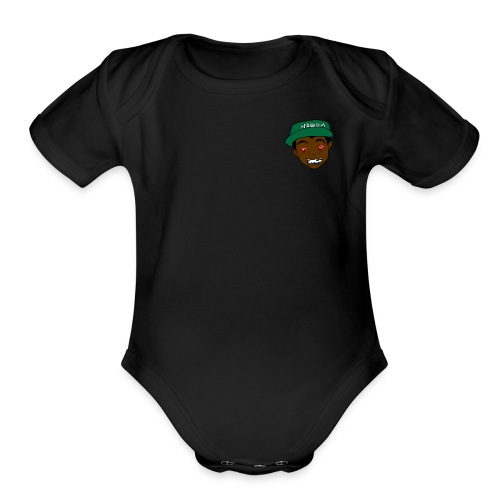 Anybody Can Say it - Organic Short Sleeve Baby Bodysuit