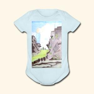 LANDSCAPE MULTI COLOUR - Short Sleeve Baby Bodysuit