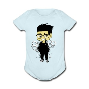 iBeat - Official Design - Short Sleeve Baby Bodysuit