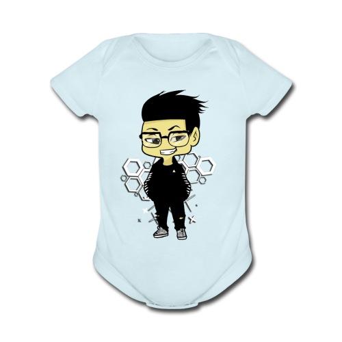 iBeat - Official Design - Organic Short Sleeve Baby Bodysuit