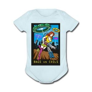 BVGSVSCOILS - Short Sleeve Baby Bodysuit
