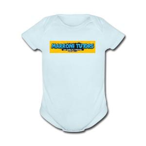 Camisetas do Marroni Tutors - Short Sleeve Baby Bodysuit