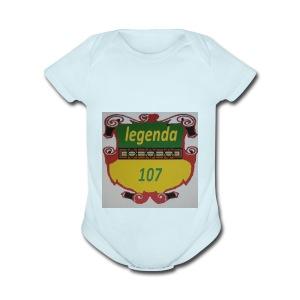 Legenda107 - Short Sleeve Baby Bodysuit