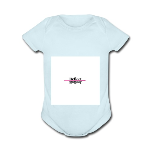 Reflect - Organic Short Sleeve Baby Bodysuit
