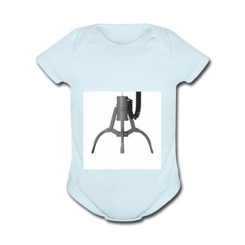 THE CLAW!!!!!!!!!!!!!!!!!!!!!!! - Organic Short Sleeve Baby Bodysuit