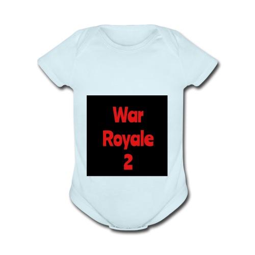 War Royale 2 - Organic Short Sleeve Baby Bodysuit