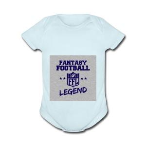 Fantasty Football Legend - Short Sleeve Baby Bodysuit