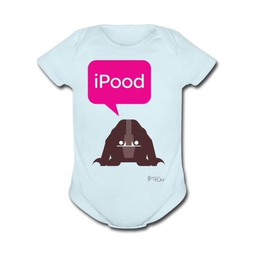 iPood - Organic Short Sleeve Baby Bodysuit