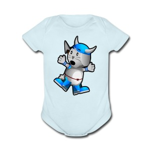 Steve! - Short Sleeve Baby Bodysuit