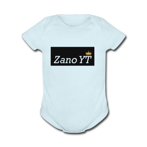 Shirt Logo - Organic Short Sleeve Baby Bodysuit