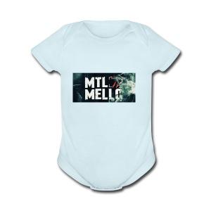 Dimello - Short Sleeve Baby Bodysuit
