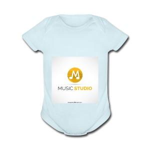 prosductos music studios - Short Sleeve Baby Bodysuit