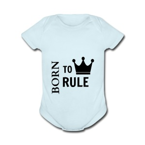 crown image 10 - Short Sleeve Baby Bodysuit