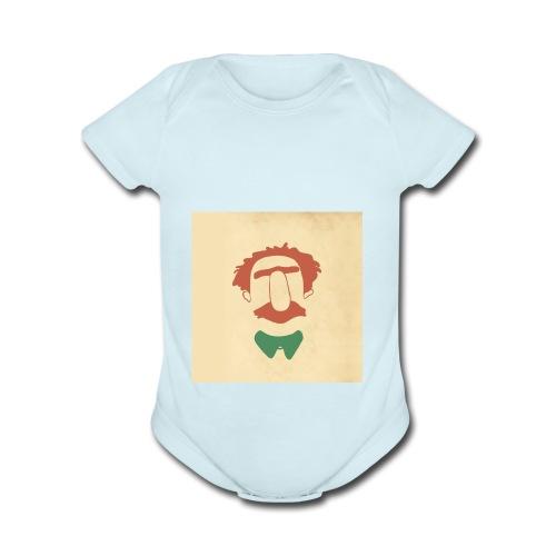 Designing Drama - Organic Short Sleeve Baby Bodysuit