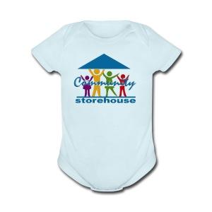 Storehouse Logo Series - Short Sleeve Baby Bodysuit