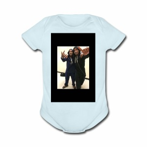 $Free The Twins$ - Short Sleeve Baby Bodysuit