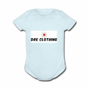 Dre - Short Sleeve Baby Bodysuit