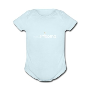 keepTripping - Short Sleeve Baby Bodysuit