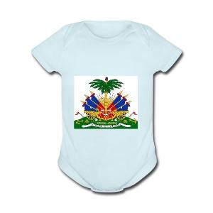 haitian 101 - Short Sleeve Baby Bodysuit