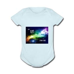 HYPE - Short Sleeve Baby Bodysuit