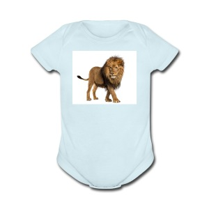 test bro - Short Sleeve Baby Bodysuit