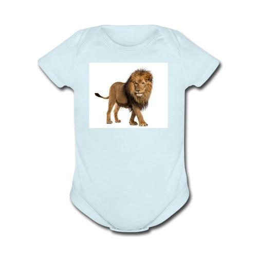 test bro - Organic Short Sleeve Baby Bodysuit
