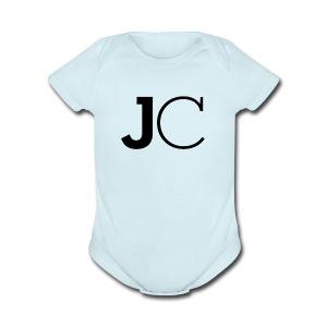 JazzyAndCeddy Logo - Short Sleeve Baby Bodysuit