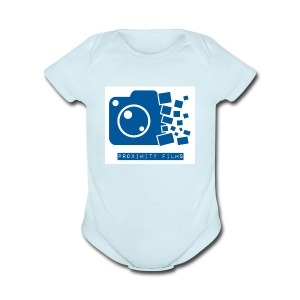 Proximity Films official logo - Short Sleeve Baby Bodysuit