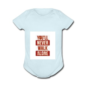 liverpool fc ynwa - Short Sleeve Baby Bodysuit