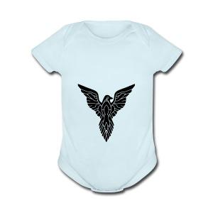 kylebaumgardner bird - Short Sleeve Baby Bodysuit
