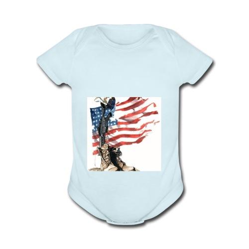 #AMSOL - Organic Short Sleeve Baby Bodysuit