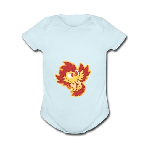 __SNYDES__ - Organic Short Sleeve Baby Bodysuit