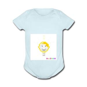 the light - Short Sleeve Baby Bodysuit