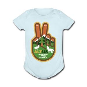 ALT US National Park Service - Peace - Short Sleeve Baby Bodysuit