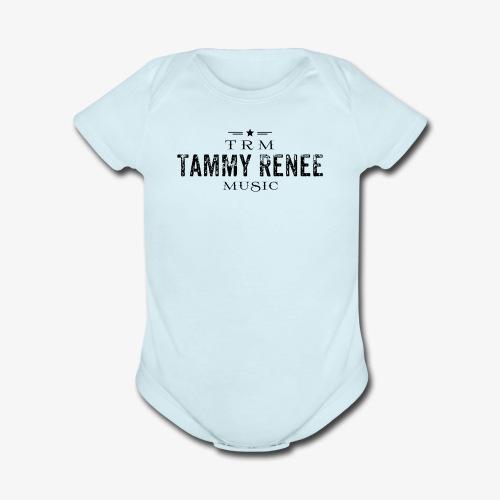 Tammy Renee Logo - Organic Short Sleeve Baby Bodysuit