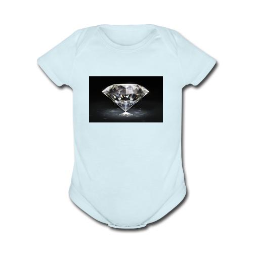 D78728AD 1FD6 431E 9F2933C6D544D339 - Organic Short Sleeve Baby Bodysuit