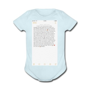 Text from a Football Commit - Short Sleeve Baby Bodysuit