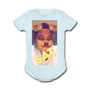 FRESH🤤 - Short Sleeve Baby Bodysuit