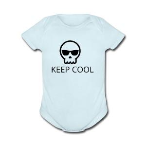 KEEP COOL - Short Sleeve Baby Bodysuit