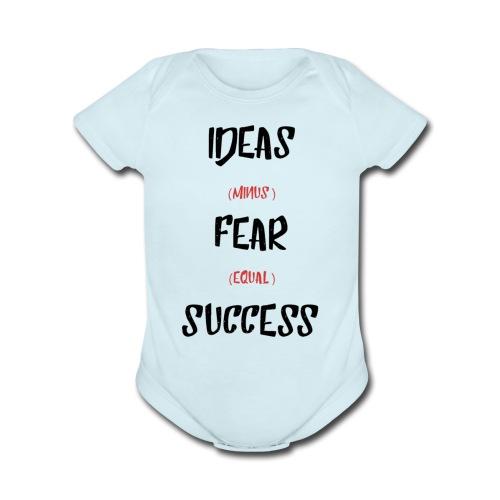 Our Success Formula - Organic Short Sleeve Baby Bodysuit