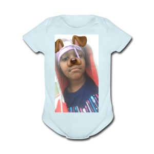 Anniyahthegreatest.com - Short Sleeve Baby Bodysuit