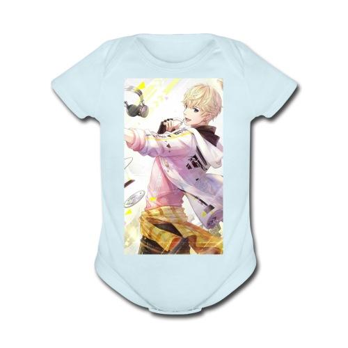 Manga boy - Organic Short Sleeve Baby Bodysuit