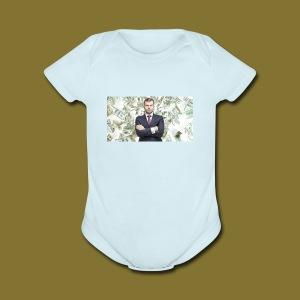 business - Short Sleeve Baby Bodysuit