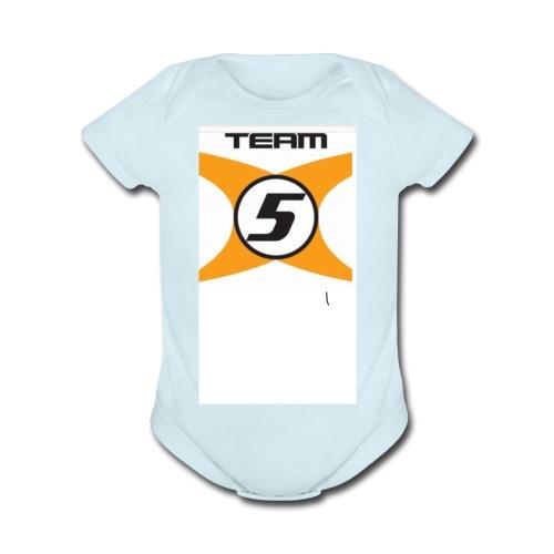 087C4026 9308 49F6 9E0A DA29E2BFA5D8 - Organic Short Sleeve Baby Bodysuit