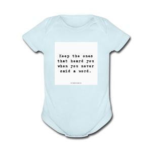 e4ba8bbc1d6516e2a24e5827f27368c0 cool friendship - Short Sleeve Baby Bodysuit