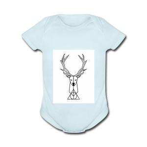 Patronus - Short Sleeve Baby Bodysuit