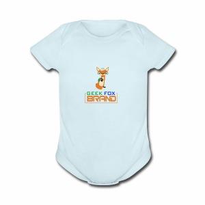 GEEK FOX BRAND - Short Sleeve Baby Bodysuit