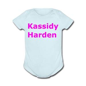 Kassidy Harden - Short Sleeve Baby Bodysuit