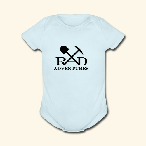 RAD Adventures - Organic Short Sleeve Baby Bodysuit